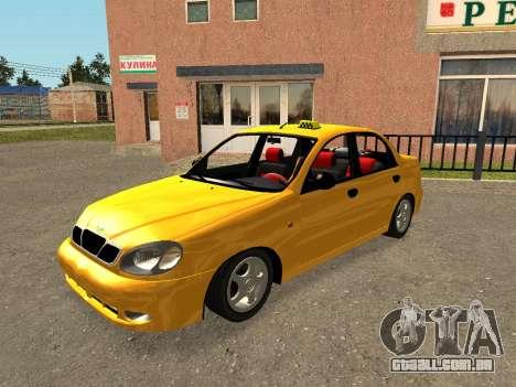 Daewoo Lanos (Sens) 2004 v2.0 by Greedy para o motor de GTA San Andreas
