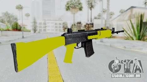 IOFB INSAS Yellow para GTA San Andreas segunda tela