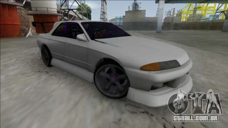 Nissan Skyline R32 4 Door Drift para GTA San Andreas esquerda vista