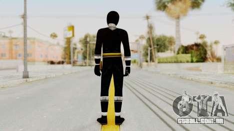 Alien Rangers - Black para GTA San Andreas terceira tela