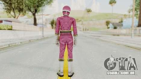 Power Rangers Lightspeed Rescue - Pink para GTA San Andreas terceira tela