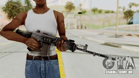 IOFB INSAS Detailed Black Skin para GTA San Andreas terceira tela
