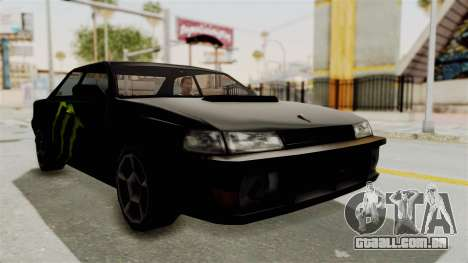 Monster Sultan para GTA San Andreas vista direita