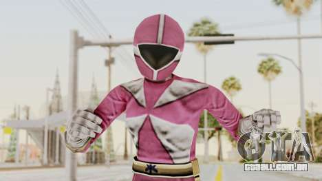 Power Rangers Lightspeed Rescue - Pink para GTA San Andreas