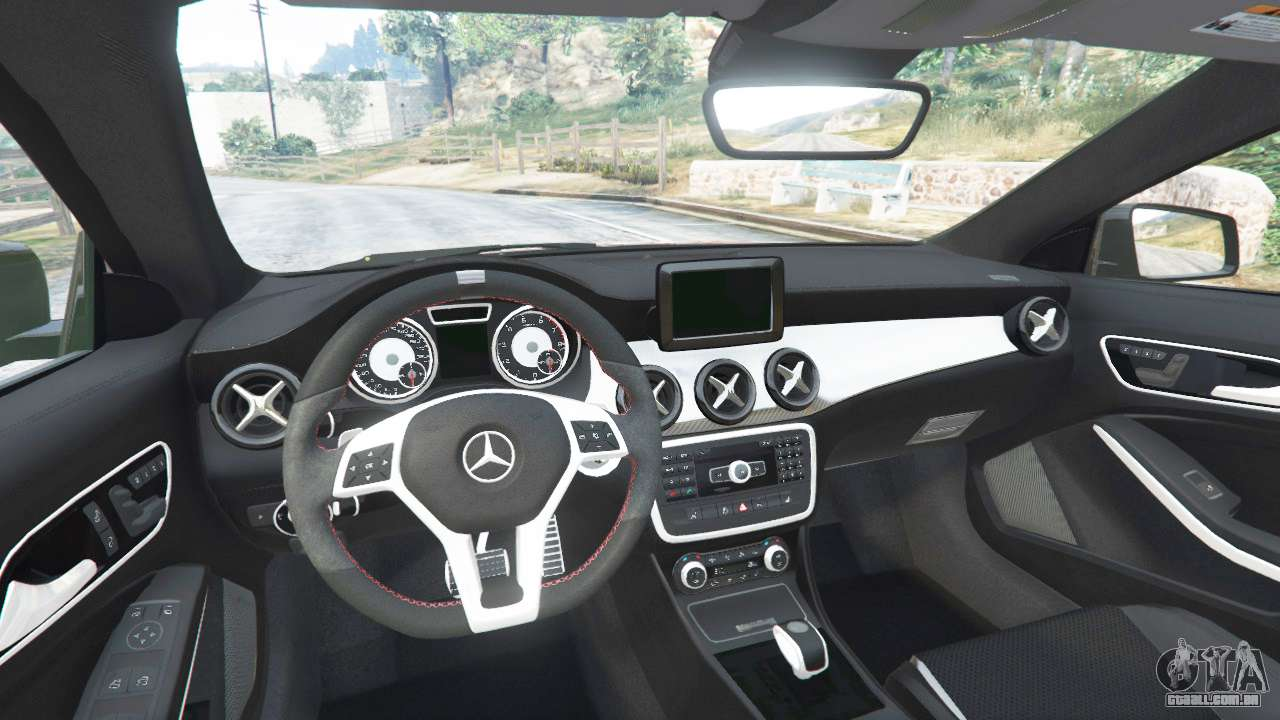 GTA 5 Mercedes Benz CLA 45 AMG [AMG Wheels] Traseira Direita Vista Lateral