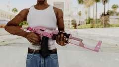 Assault Rifle Pink para GTA San Andreas