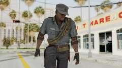 MGSV Phantom Pain Zero Risk Security LMG v1 para GTA San Andreas