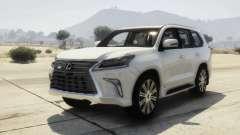 2016 Lexus LX 570 para GTA 5