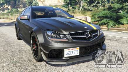 Mercedes-Benz C63 Coupe para GTA 5
