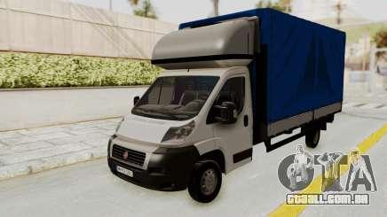 Fiat Ducato Work Van v2 para GTA San Andreas