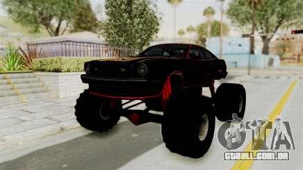 Ford Mustang King Cobra 1978 Monster Truck para GTA San Andreas