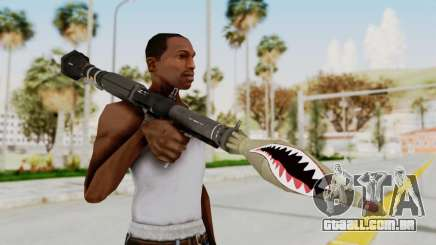 GTA 5 Rocket Launcher Shark mouth para GTA San Andreas