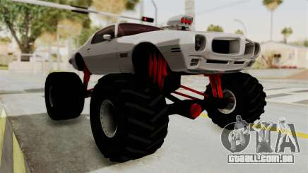 Pontiac Firebird 1970 Monster Truck para GTA San Andreas
