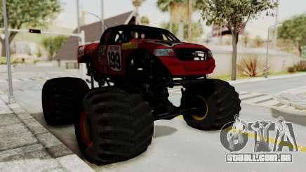 Pastrana 199 Monster Truck para GTA San Andreas