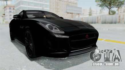 Jaguar F-Type Coupe 2015 para GTA San Andreas