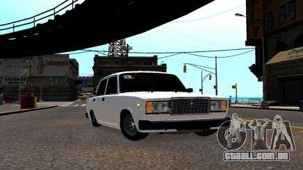 VAZ 2107 BPAN para GTA 4