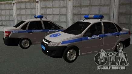 Lada Granta de segurança Privada para GTA San Andreas