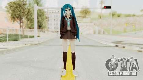 Project Diva F2nd - Hatsune Miku (Rolling Girl) para GTA San Andreas segunda tela