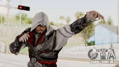 AC Brotherhood - Ezio Auditore Seusenhofer Armor para GTA San Andreas