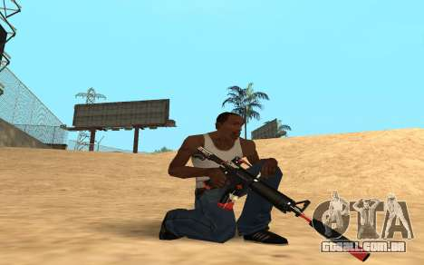 M4 Cyrex para GTA San Andreas