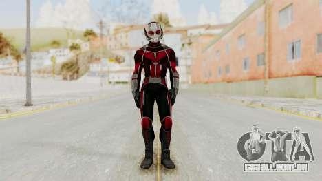 Captain America Civil War - Ant-Man para GTA San Andreas segunda tela