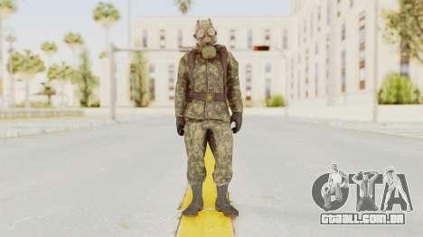 COD Black Ops Russian Spetznaz v3 para GTA San Andreas segunda tela