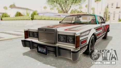 GTA 5 Dundreary Virgo Classic Custom v1 para GTA San Andreas vista interior