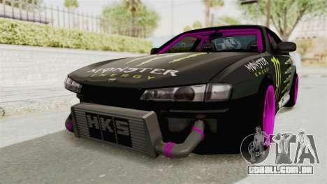 Nissan Silvia S14 Drift Monster Energy Falken para GTA San Andreas