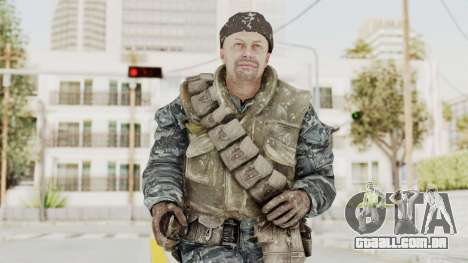 COD BO Russian Spetznas Flak MP v3 para GTA San Andreas