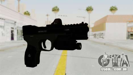 Killzone - M4 Semi-Automatic Pistol para GTA San Andreas