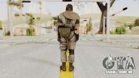 MGSV The Phantom Pain Venom Snake Scarf v3 para GTA San Andreas terceira tela