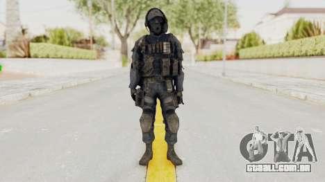 CoD MW3 SAS para GTA San Andreas segunda tela
