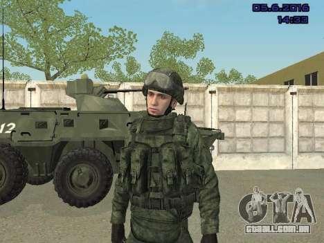 Modern Russian Soldiers pack para GTA San Andreas nono tela
