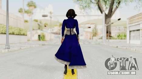 Bioshock Infinite Elizabeth Corset para GTA San Andreas terceira tela