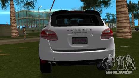 Porsche Cayenne 2012 para GTA Vice City vista direita