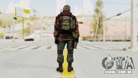 Battery Online Russian Soldier 2 para GTA San Andreas terceira tela