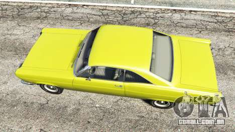 GTA 5 Ford Fairlane 500 1966 v1.1 voltar vista