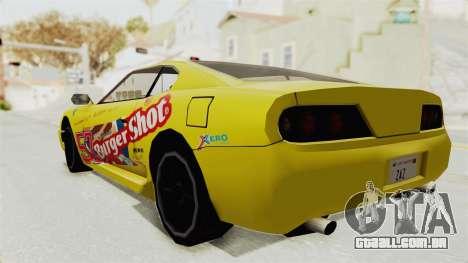 GTA 5 BuRGer Shot JeZter para GTA San Andreas traseira esquerda vista