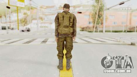MGSV The Phantom Pain Soviet Union Vest v1 para GTA San Andreas terceira tela