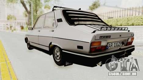 Dacia 1310 TX 1986 para GTA San Andreas esquerda vista