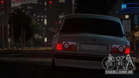GAZ 31105 Tuning Aze Style para GTA 4 esquerda vista
