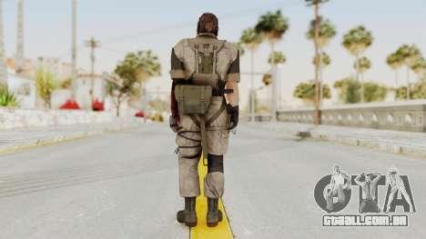 MGSV The Phantom Pain Venom Snake Desert para GTA San Andreas terceira tela