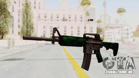 HD M4 v4 para GTA San Andreas segunda tela