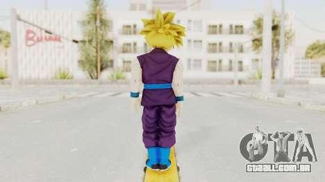 Dragon Ball Xenoverse Gohan Teen DBS SSJ1 v1 para GTA San Andreas terceira tela
