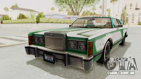 GTA 5 Dundreary Virgo Classic Custom v1 para as rodas de GTA San Andreas