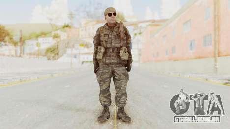 COD BO SOG Hudson v2 para GTA San Andreas segunda tela