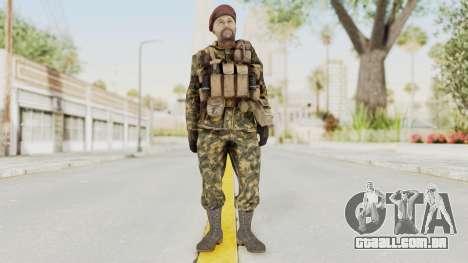 COD Black Ops Russian Spetznaz v7 para GTA San Andreas segunda tela