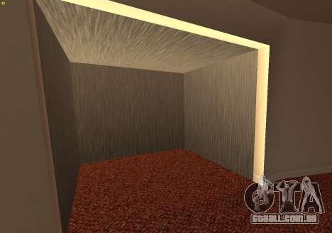 New Interior Radiocenter para GTA San Andreas terceira tela