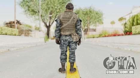 COD BO Russian Spetznas Flak MP v3 para GTA San Andreas terceira tela