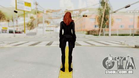 Captain America Civil War - Black Widow para GTA San Andreas terceira tela